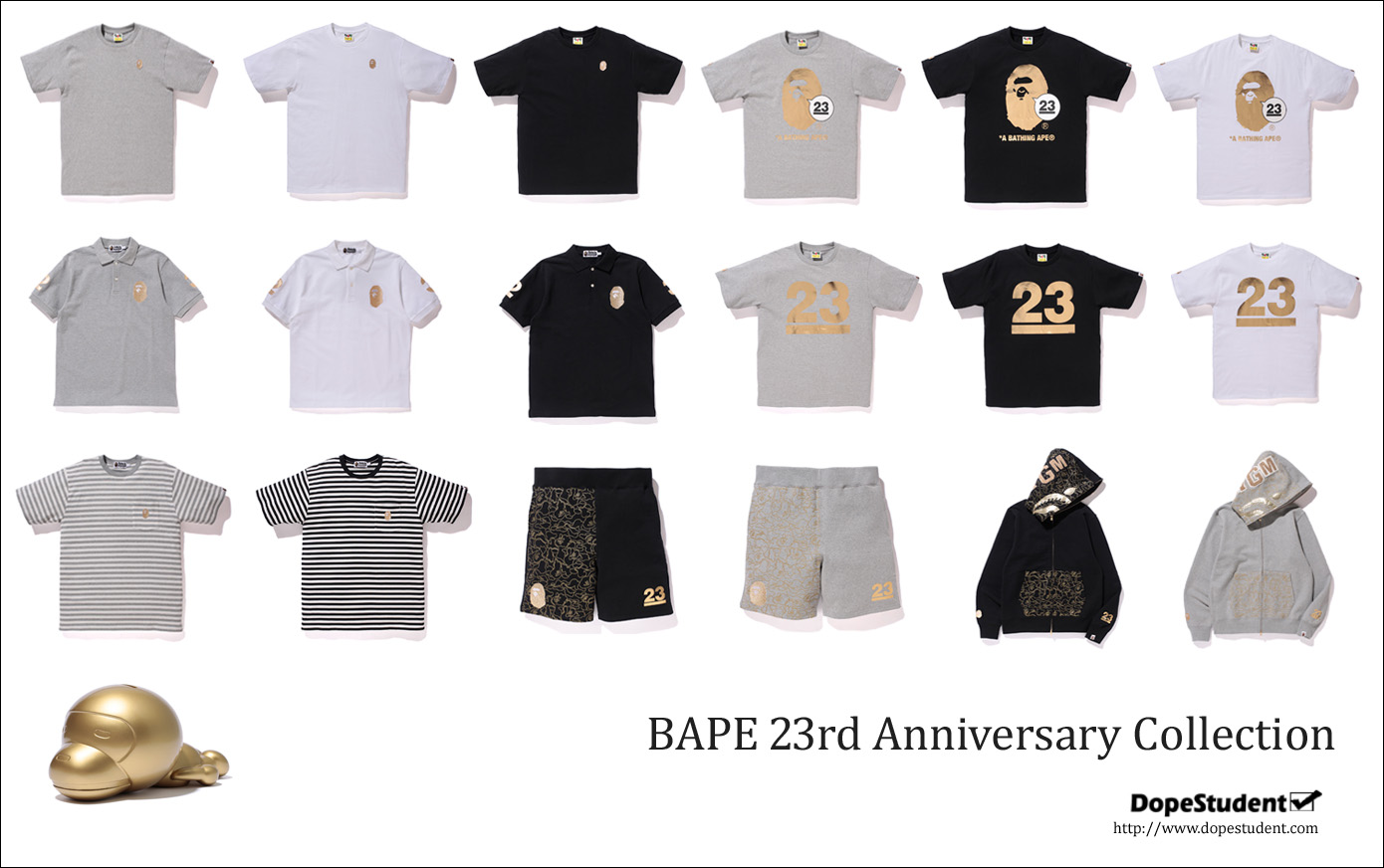 BAPE 23rd Anniversary Collection