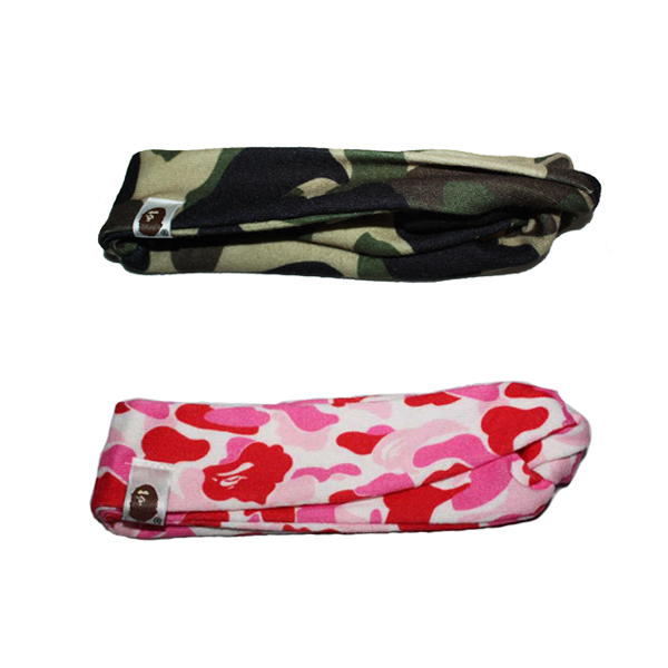 Bape Camo Girl Woman Headband