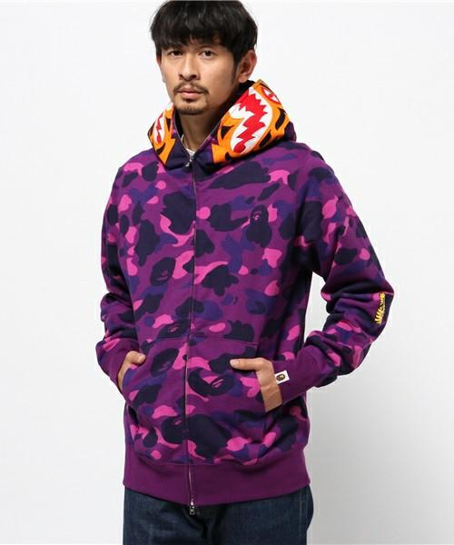 17c7d7f361a50 Color Camo Full Zip Bape Tiger Hoodie. Previous; Next