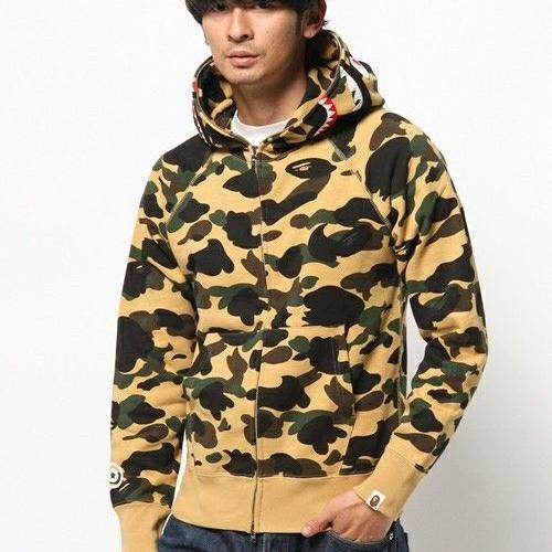 bape-yellow-camo-hoodie-model