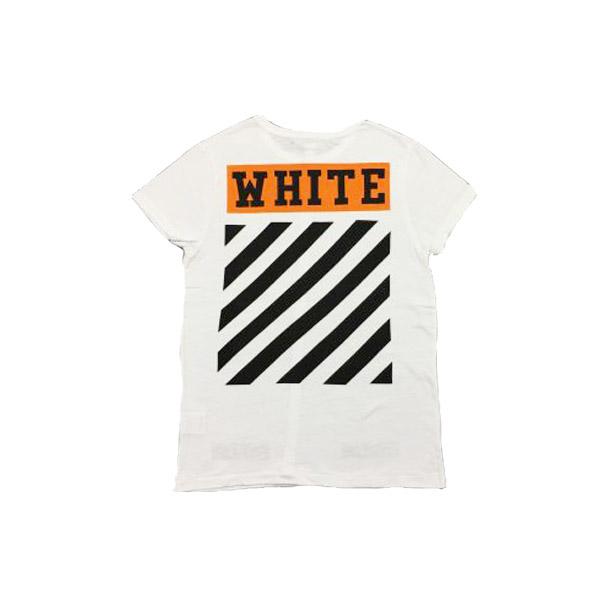 3d0945976a5b Off-White Orange Flocking T-shirt. Previous  Next