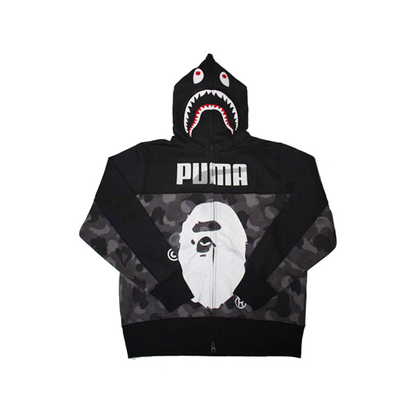 89ca7a647d01 Bape Puma Collection Shark Hoodie. Previous  Next
