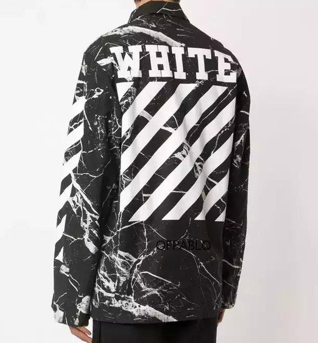 Off-White 2016ss Marble Camo Jacket | Dopestudent