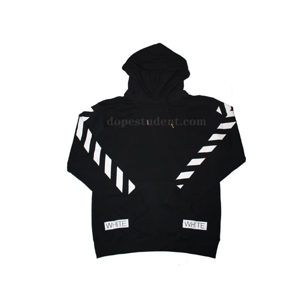 Off-White Blue Collar Pullover Hoodie  a51f09f87