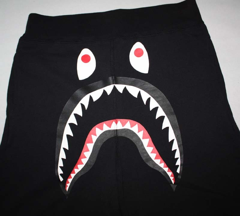bape shark shorts black 8e18b77ff9