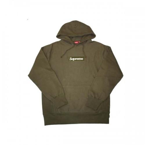 supreme-olive-hoodie