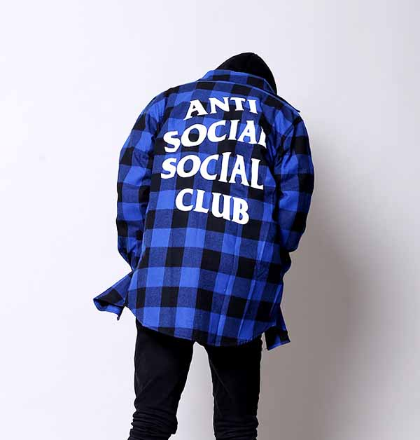 ed4861151e30 Anti Social Social Club ASSC Flannel Shirt. Previous; Next