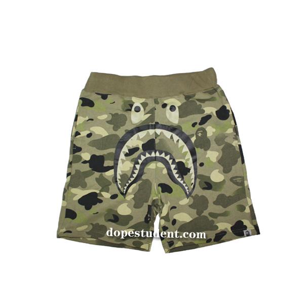 4829900615e Bape Undefeated Camo Shorts
