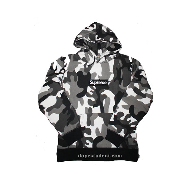 a7ac83d78dd6 Black Camo Box Logo Supreme Hoodie