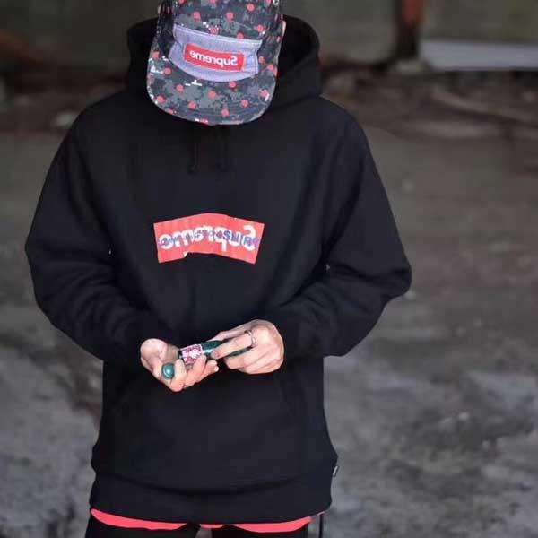 Supreme cdg hoodie