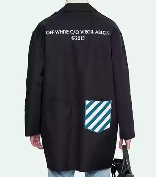 Off-White Black Canvas Work Coat. Previous  Next 79827074534a