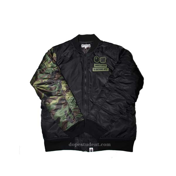 af36d46134d3 Bape Undefeated Winter MA-1 Jacket. Previous  Next