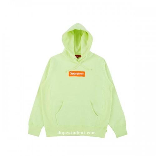 supreme-2017fw-pale-yellow-box-hoodie-1