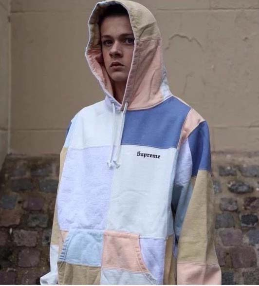 b4054a8f5675 Color Patchwork Supreme Hoodie. Previous  Next