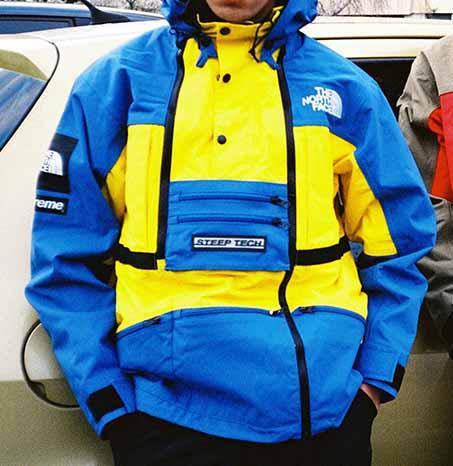 quality design fcdf7 2ddff Supreme TNF Steep Tech Hooded Jacket. Previous  Next