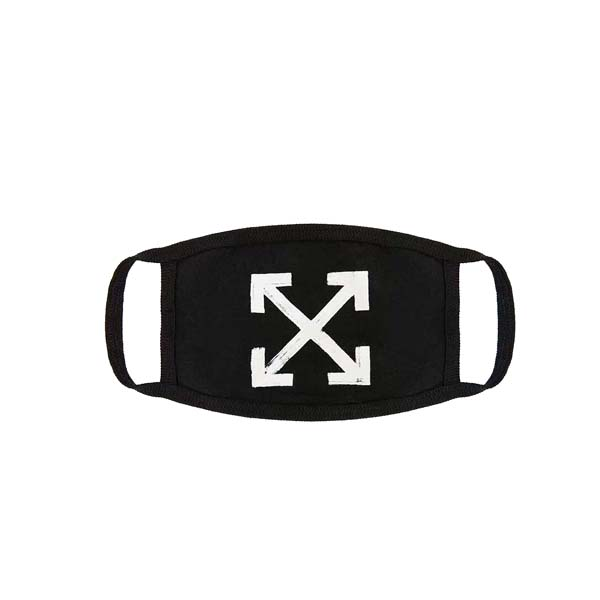 Off-White Brush Arrow Mouth Mask