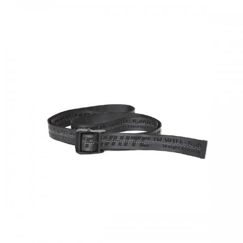 Off-white black belt
