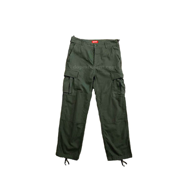 Supreme Military Green Cargo Pants | Dopestudent