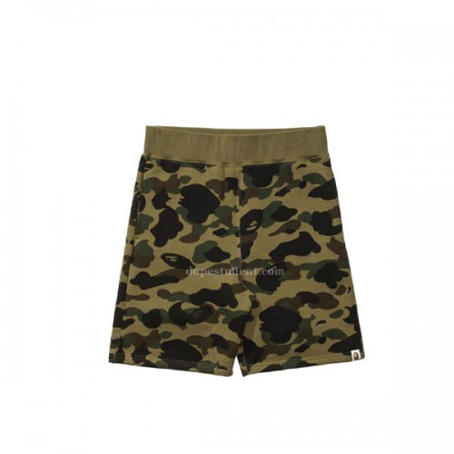 bape-1st-green-camo-shorts