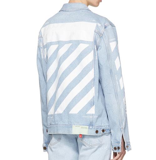 b93093410 Off-White Temperature Jean Jacket