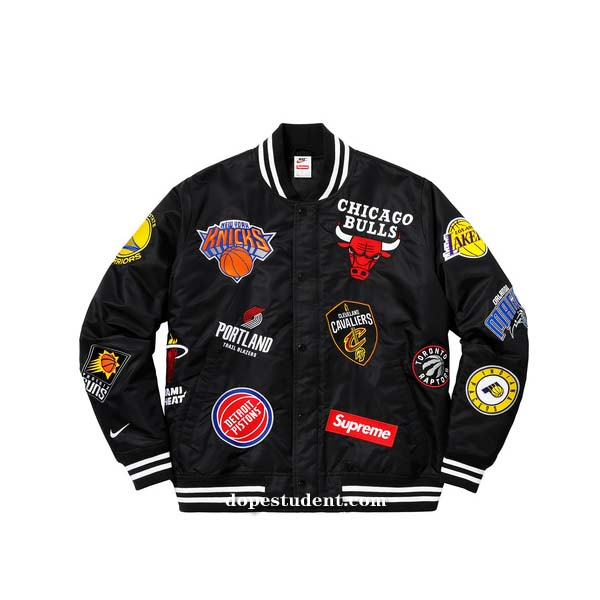 Supreme Nba Nike Varsity Jacket Previous Next