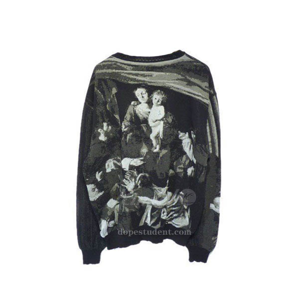 ab371e7d77 Off-White Caravaggio Knitted Sweater. Previous  Next