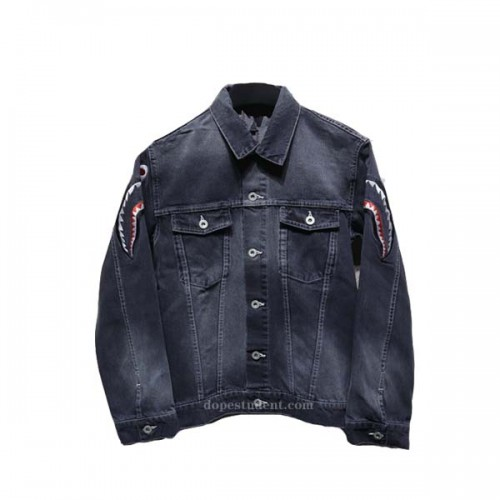 bape-black-shark-denim-jacket-2