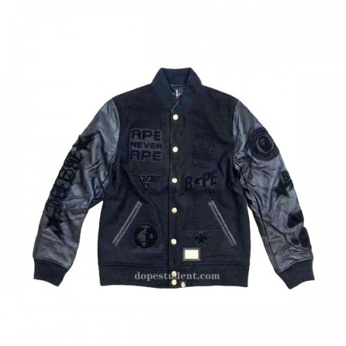 bape-black-gold-varsity-jacket-1
