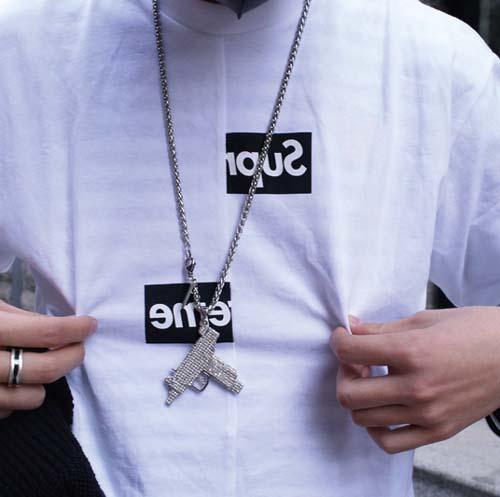 aec174f40a54 Supreme CDG Split Box T-shirt. Previous  Next