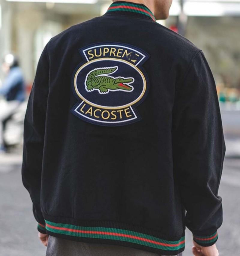 Black Varsity Sweater