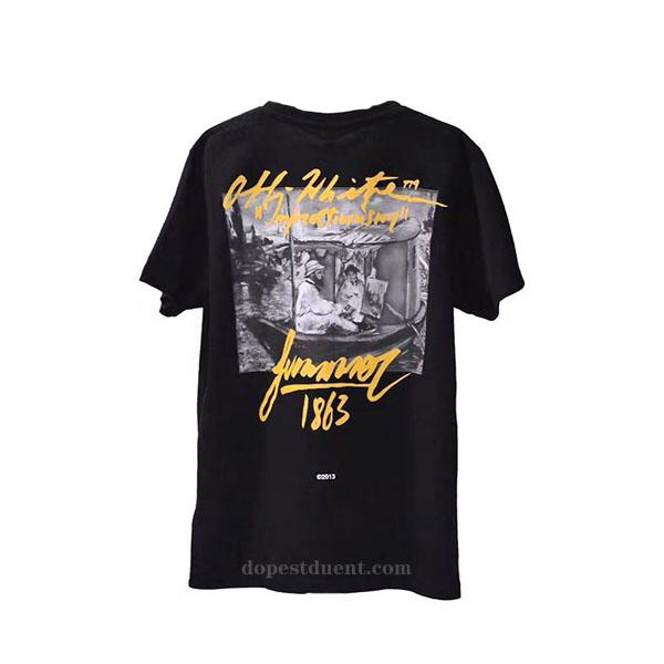 3c430cca9574 Off-White Impressionism T-shirt. Previous  Next